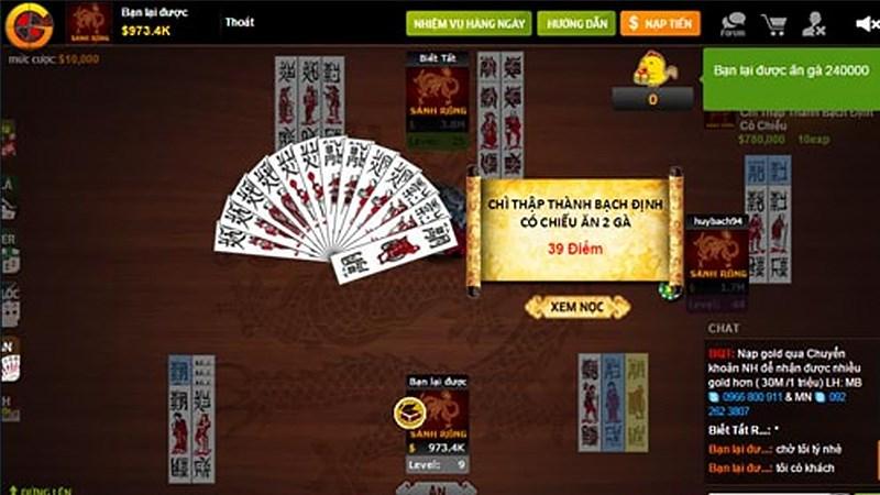 Thể loại game Chắn với lối chơi đơn giản và dễ hiểu.