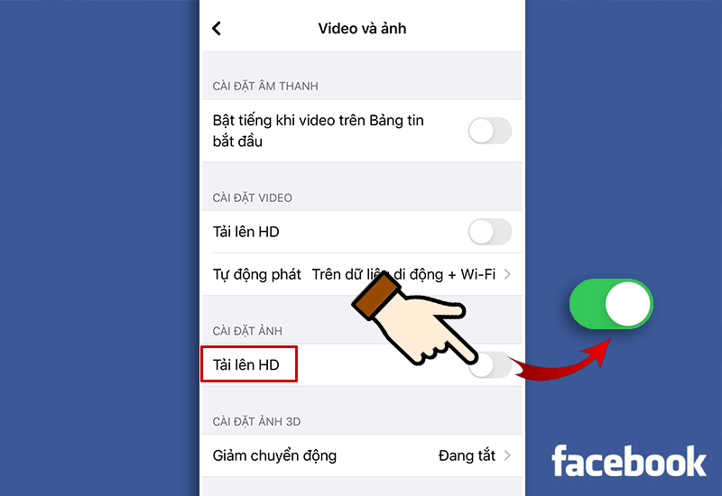 Cách tải ảnh chất lượng cao lên Facebook cực kỳ đơn giản