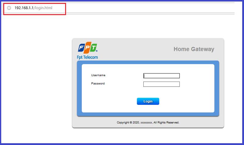 đổi mật khẩu WIFI VNPT