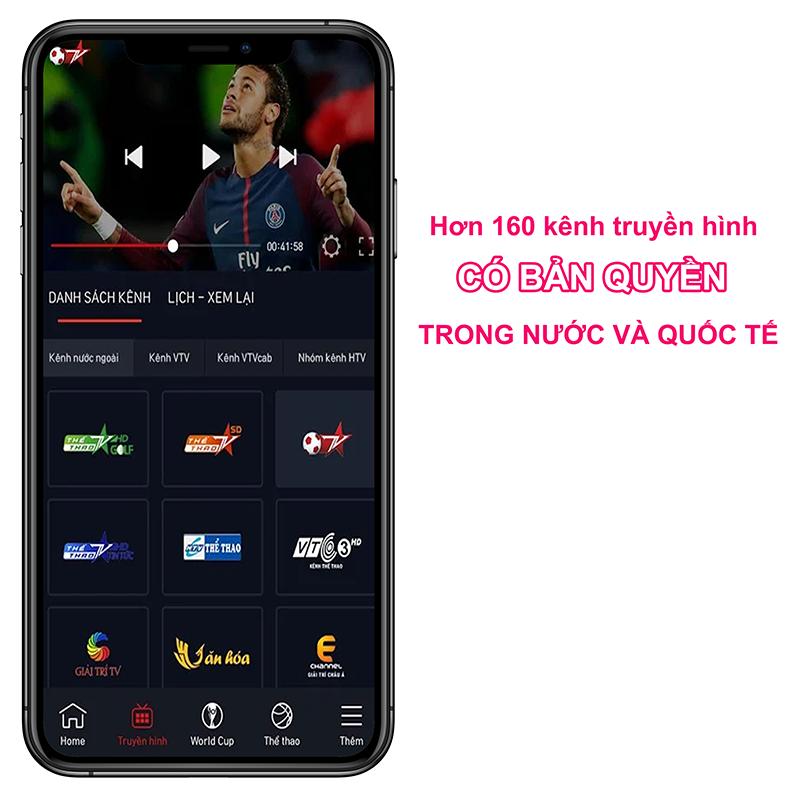 Xem hơn 160 kênh truyền hình CÓ BẢN QUYỀN trong nước và quốc tế
