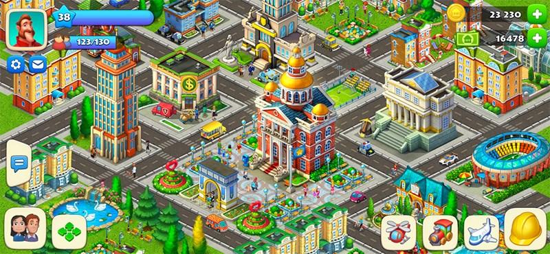 ALT: Xây dựng thành phố trong mơ của chính bạn.