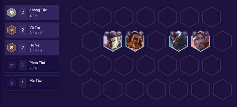 Đội hình đầu game