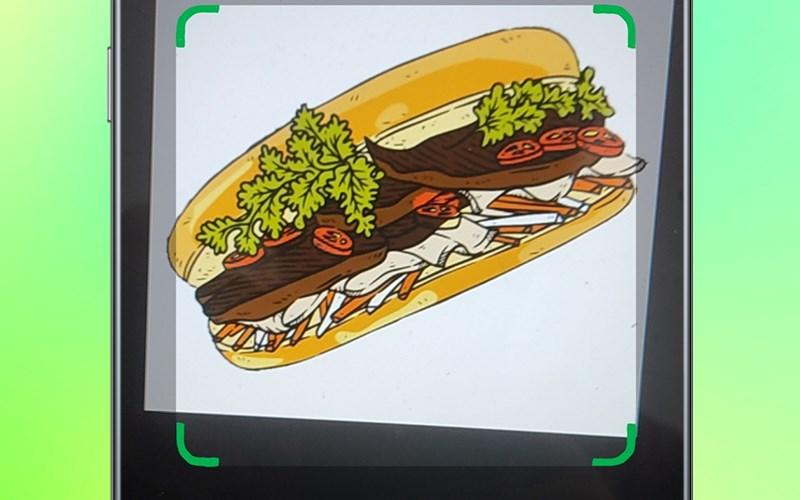 Chụp bức ảnh đồ ăn của bạn