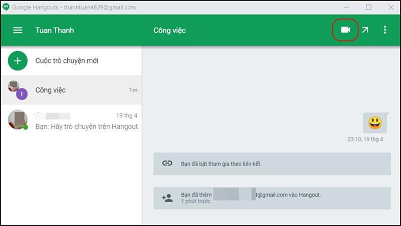 Cách họp trực tuyến qua Hangouts đơn giản nhất