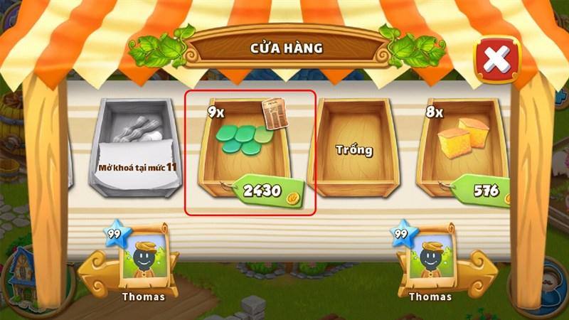 Mua vật phẩm tại cửa hàng của những người chơi khác trong game