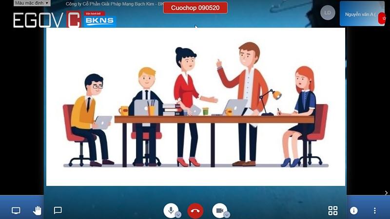 Cách họp trực tuyến thông qua EGOVC Jisti tiện lợi nhất