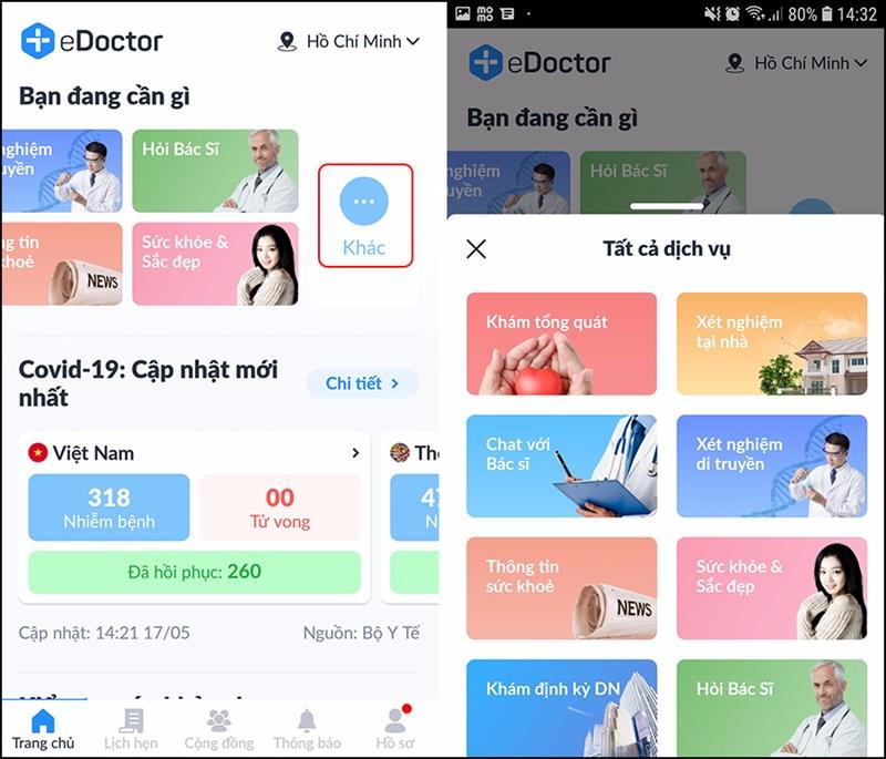 eDoctor chat với bác sĩ tại nhà