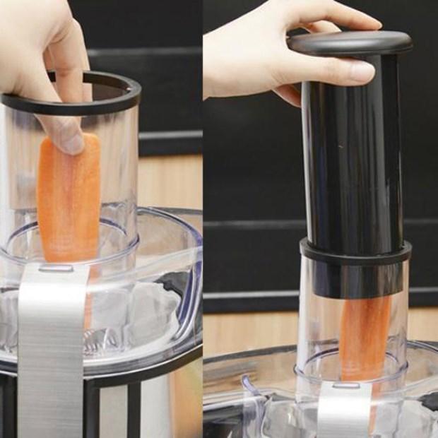 Bước 2 Ép nước thơm Nước ép dứa cà rốt