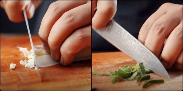 Bước 1 Sơ chế các nguyên liệu Canh Tom Yum