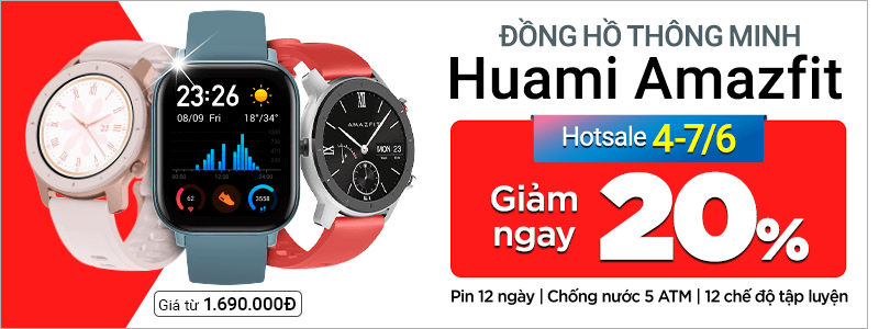 Huami Amazfit Watch[break]Giảm Sốc 20%