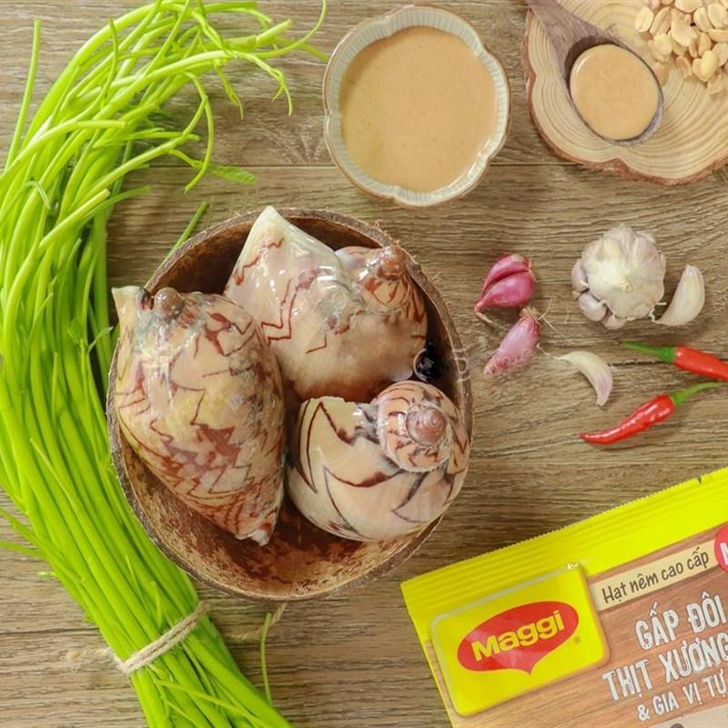 Nguyên liệu món ăn 2 cách làm món ốc giác xào