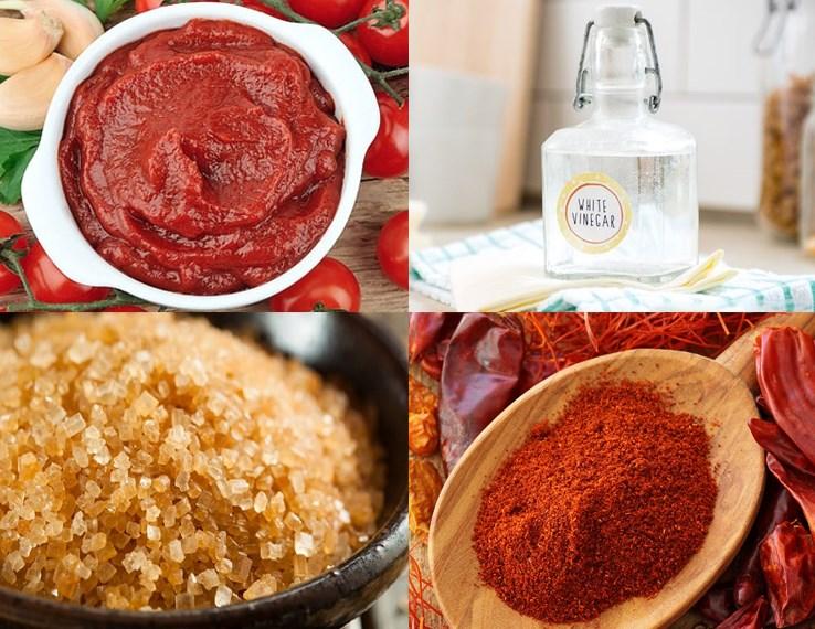 Nguyên liệu món ăn sốt chấm thịt nướng