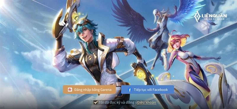Bước 1: Vào game đăng nhập tài khoản.