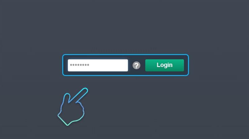 Giao diện login để tiếp tục sử dụng