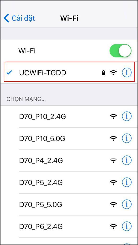 dùng các thiết bị đăng nhập Wifi