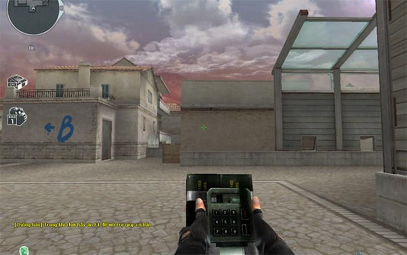 Chế độ đặt bom trong game Crossfire