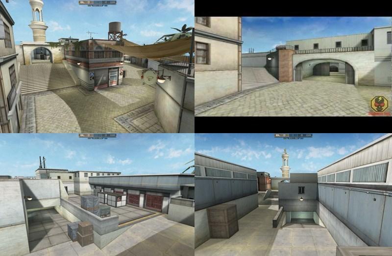 Hệ  thống bản đồ trong game Crossfire