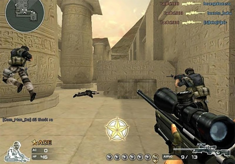 Chế độ đấu đội trong game Crossfire