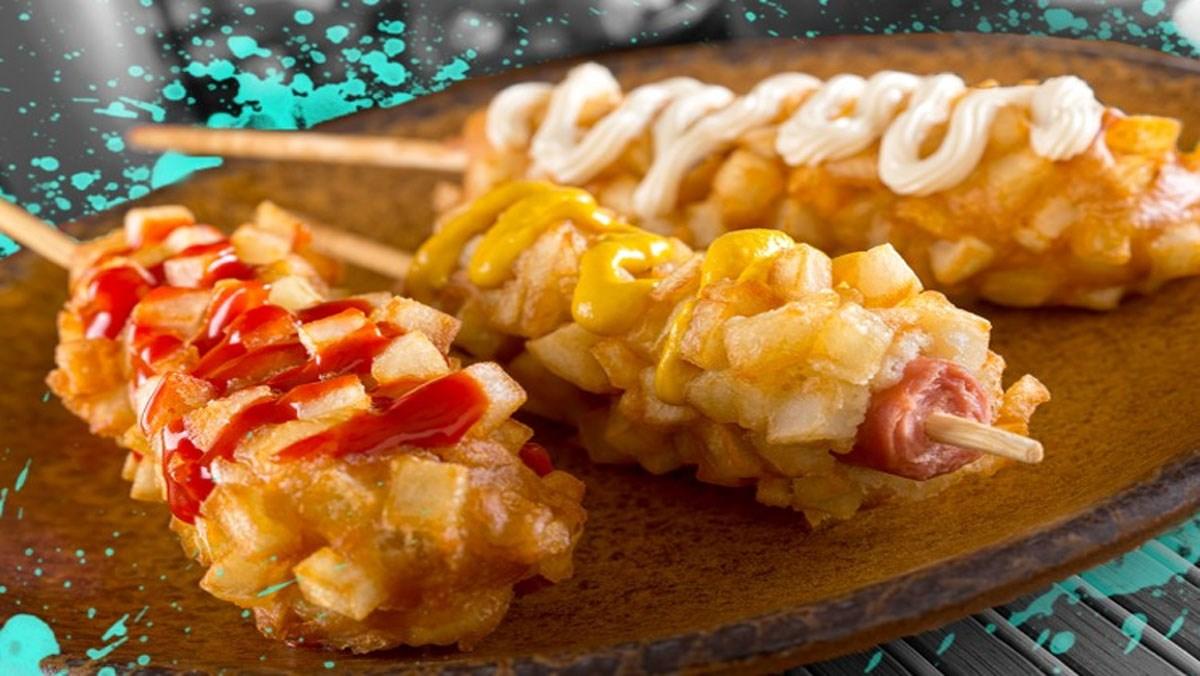 Hotdog xúc xích Hàn Quốc
