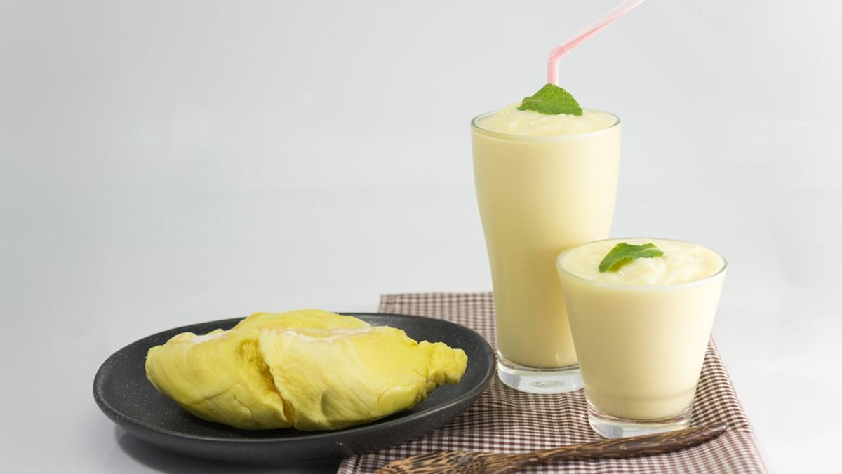 Sinh tố sầu riêng và sữa chua