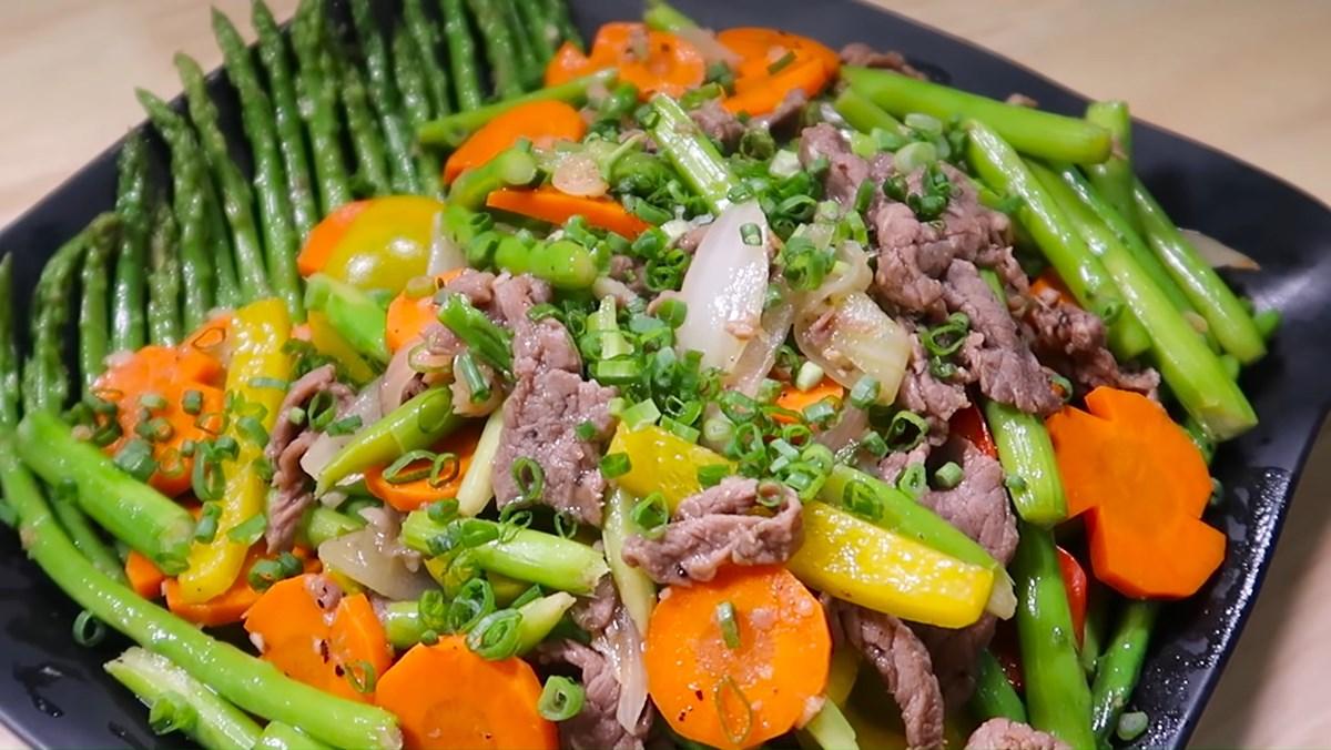 3 cách đơn giản làm món thịt bò xào ngon lạ miệng