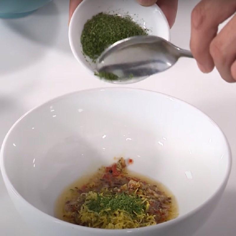 Bước 4 Làm sốt ốc móng tay nướng chanh sả