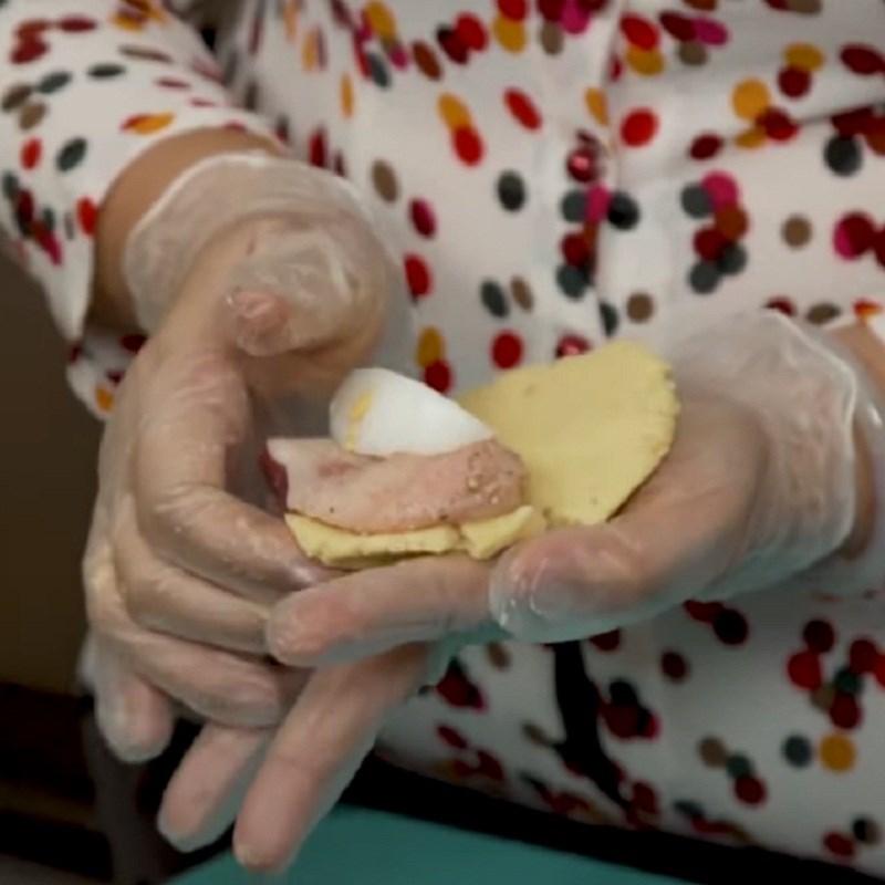 Bước 6 Chuẩn bị nhân bánh Bánh ú nhân mặn miền Tây