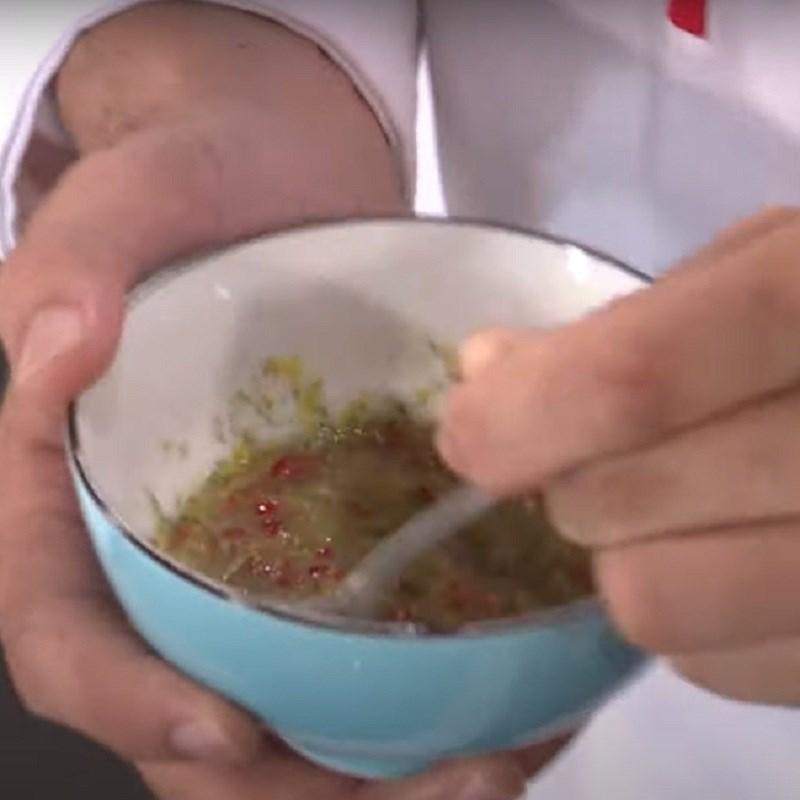 Bước 7 Làm nước chấm ốc móng tay nướng chanh sả