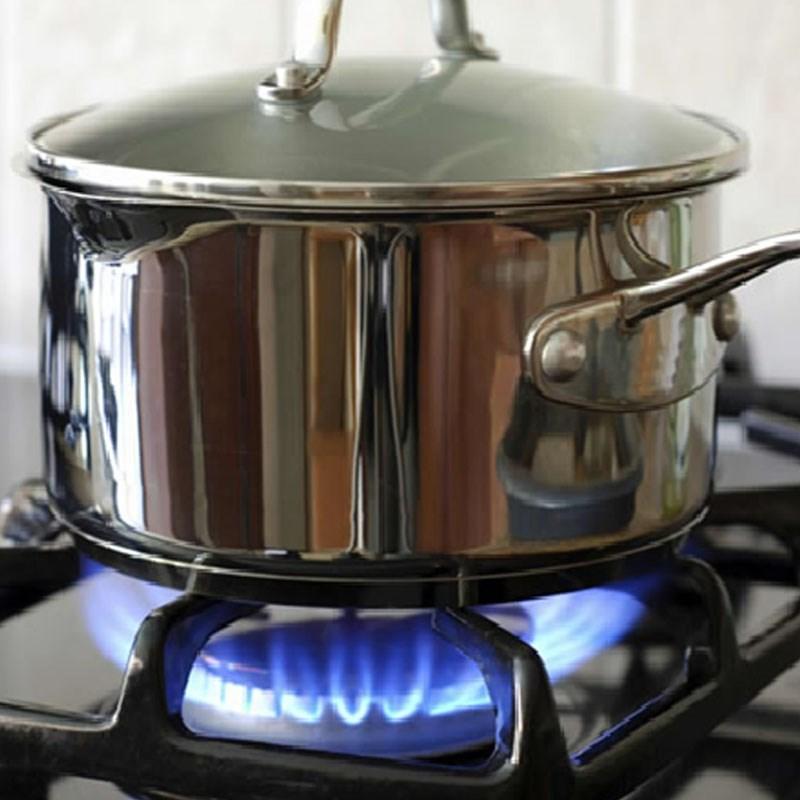 Bước 3 Nấu cơm cách nấu cơm bằng bếp gas