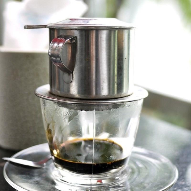 Bước 1 Pha cà phê Sữa chua cà phê