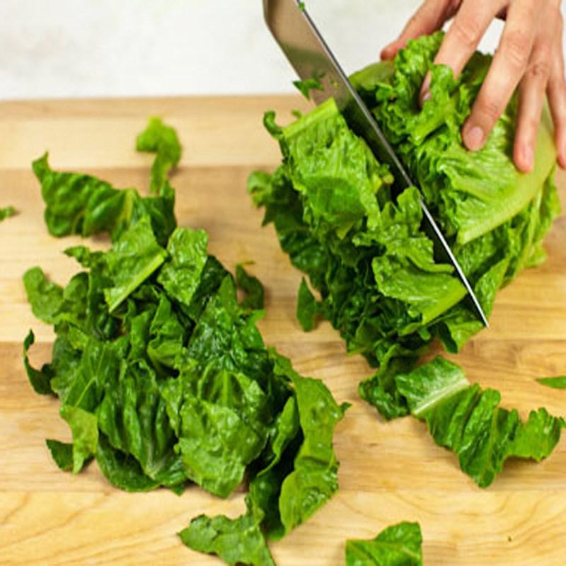 Bước 1 Sơ chế nguyên liệu Salad hạt chia