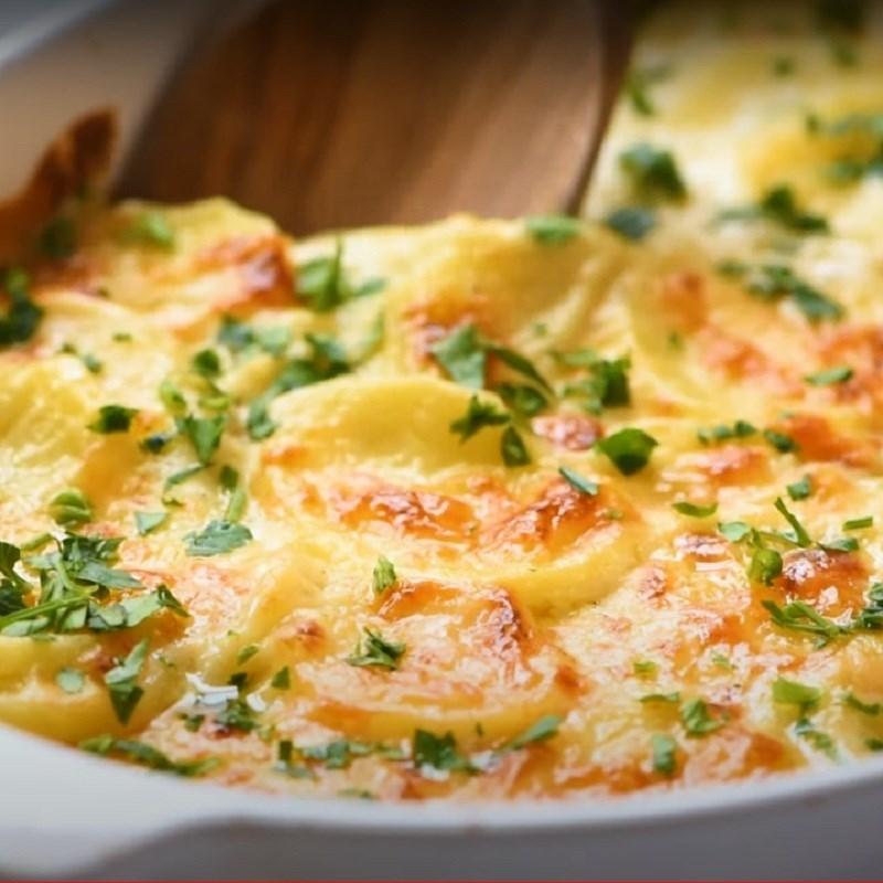 Bước 7 Thành phẩm Khoai tây nướng phô mai kiểu Pháp - Potatoes gratin