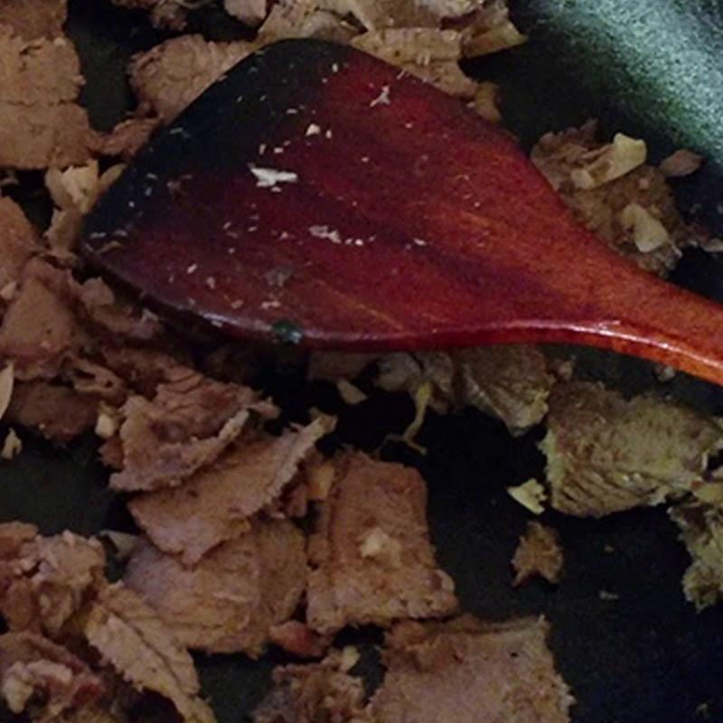 Bước 3 Xào thịt trâu Thịt trâu xào xả ớt