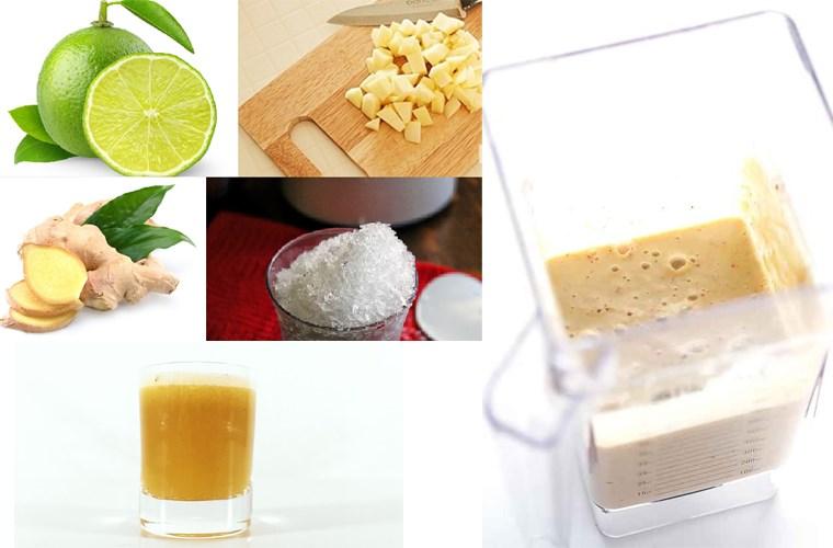 Bước 3 Xay và lọc hỗn hợp Nước ép táo bằng máy xay sinh tố