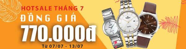 Hotsale đồng hồ đồng giá