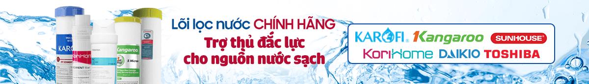 Banner Lõi lọc nước