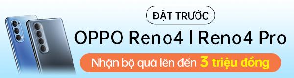 Đặt trước OPPO Reno4
