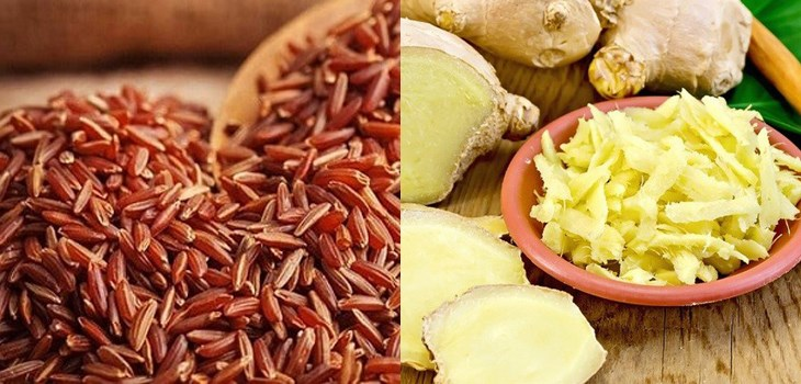 Nguyên liệu món ăn 4 cách làm trà gạo lứt