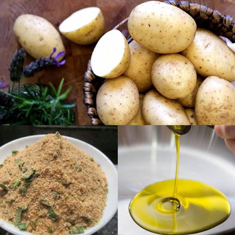 Nguyên liệu món ăn snack khoai tây