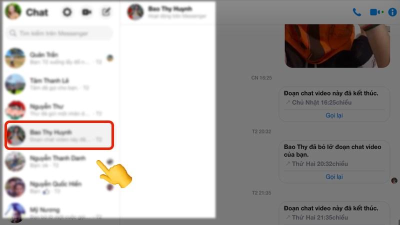 cách chặn, bỏ chặn tin nhắn trên messenger, bỏ chặn khi xóa tin nhắn