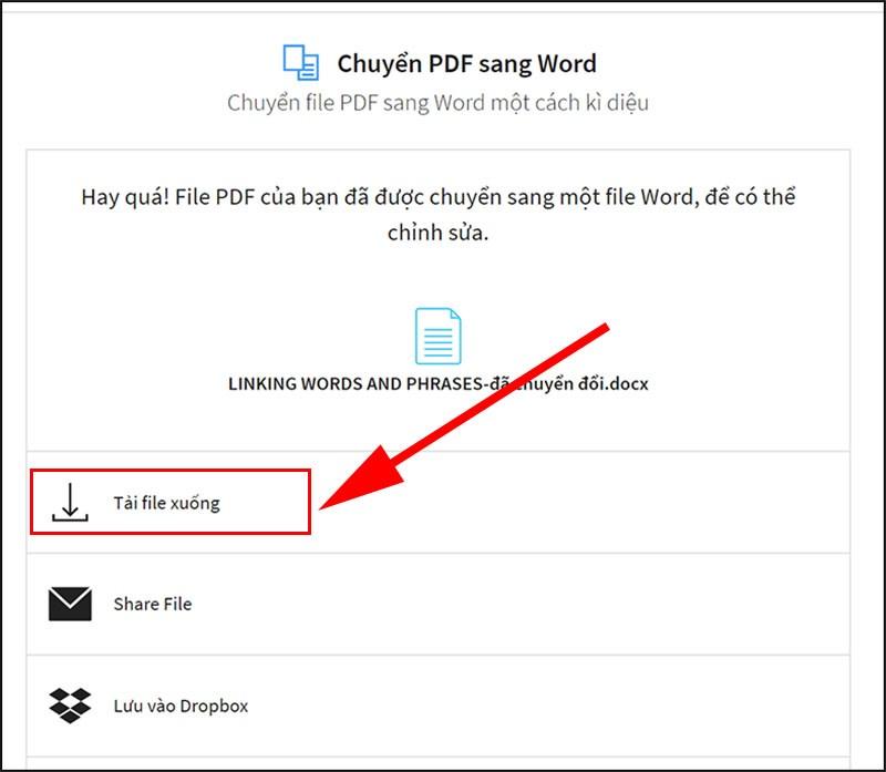 Tải file PDF đã chuyển đổi