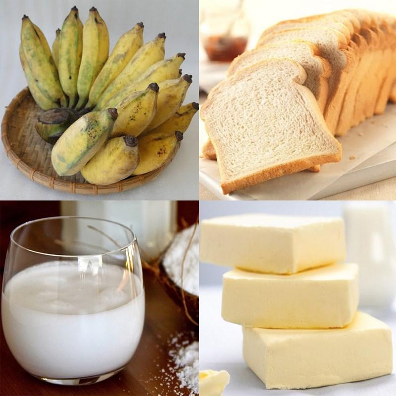 3 cách làm bánh chuối nướng với sữa tươi và nước cốt dừa thơm béo