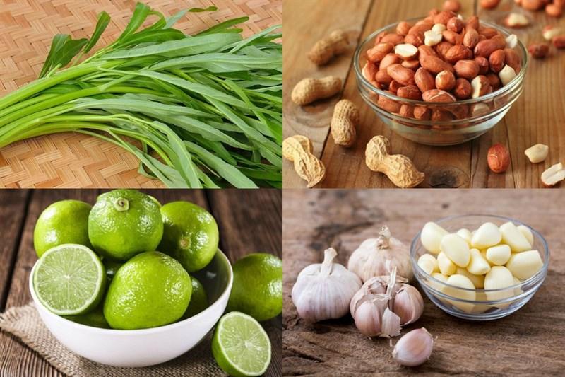 4 cách nộm rau muống đơn giản, dân giã ngon đậm đà
