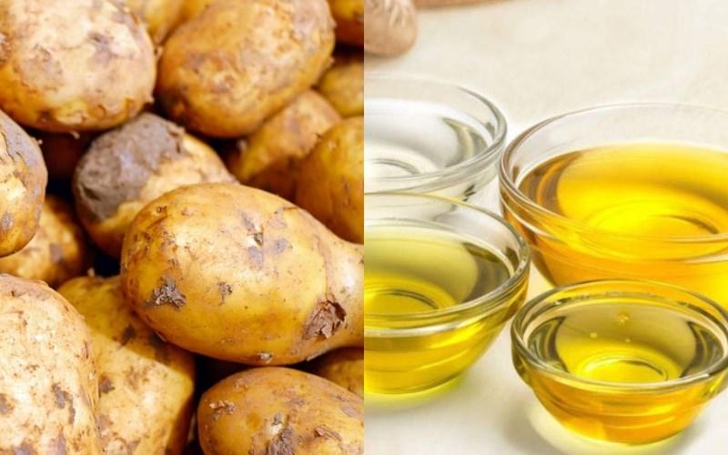 Nguyên liệu món ăn khoai tây chiên