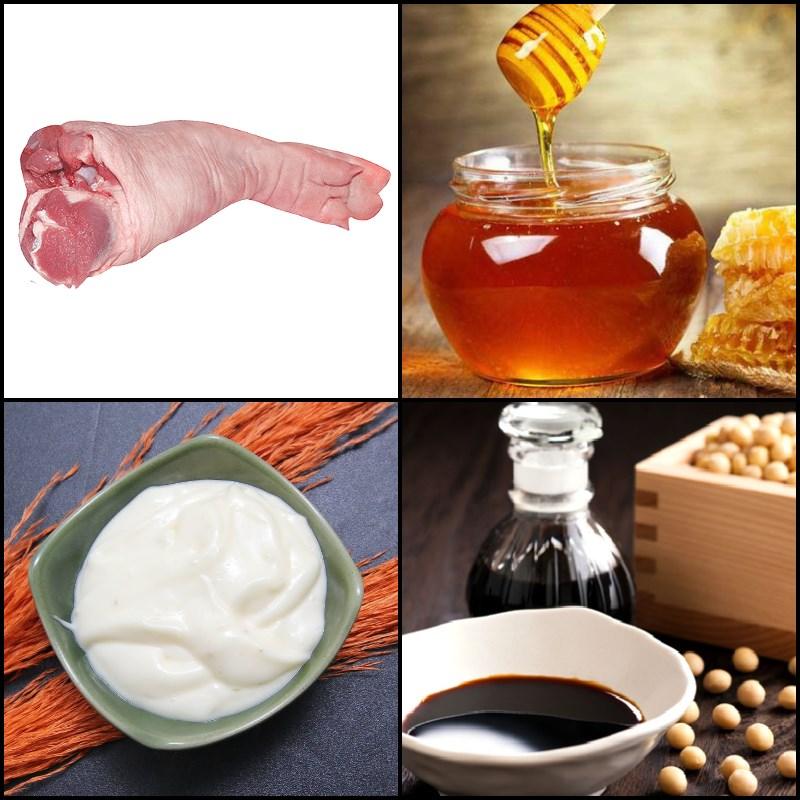 Nguyên liệu món ăn chân giò nướng