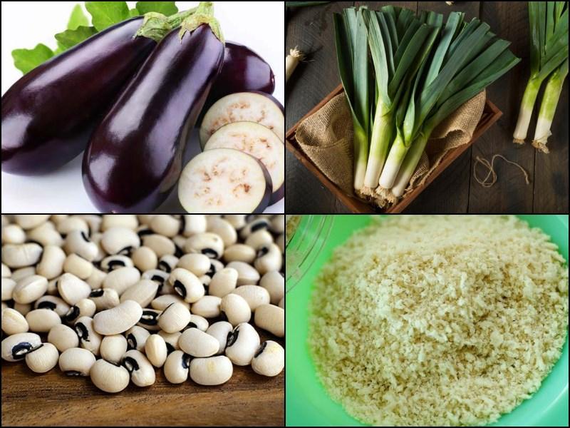 Nguyên liệu món ăn 3 cách làm xíu mại chay