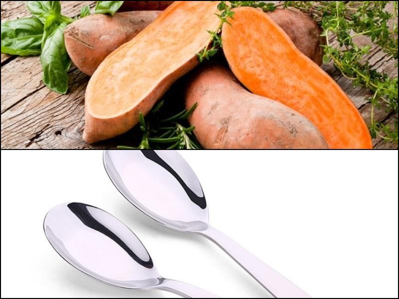 Nguyên liệu món ăn khoai lang nướng