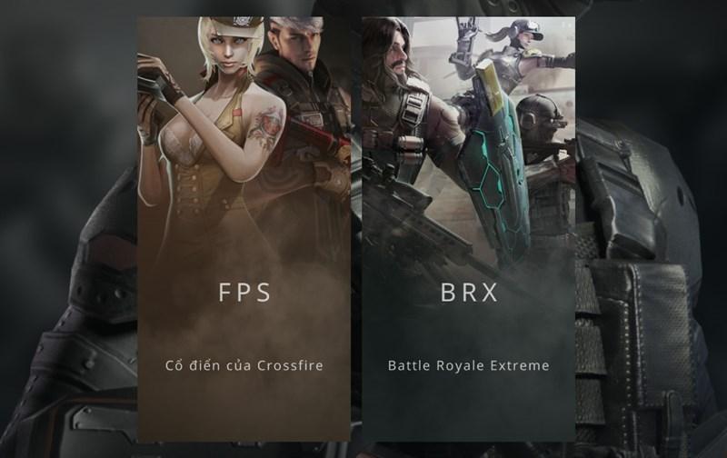 Trò chơi gồm 2 chế độ FPS và BRX