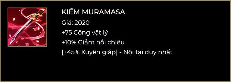 Kiếm Muramasa