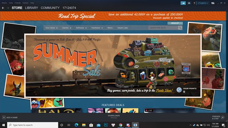 Đăng nhập vài tài khoản Steam của bạn